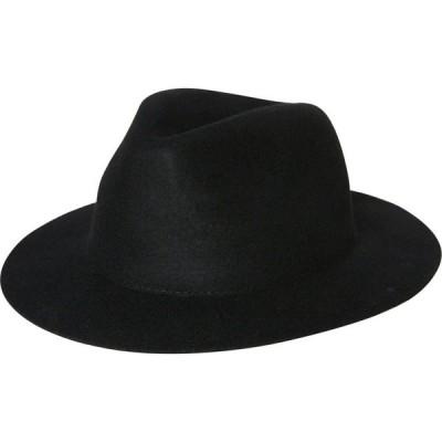 ラスティ Rusty メンズ 帽子 the deane felt hat Black
