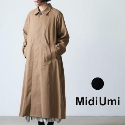 MidiUmi (ミディウミ) ステンカラーロングコート