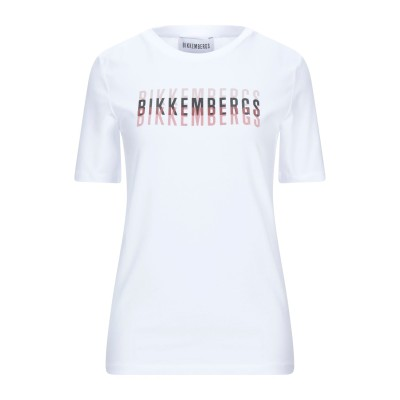 ビッケンバーグ BIKKEMBERGS T シャツ ホワイト S コットン 92% / ポリウレタン 8% T シャツ