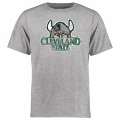 Fanatics Branded ファナティクス ブランド スポーツ用品  Cleveland State Vikings Ash Big & Tall Classic Primary T