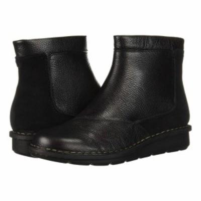 クラークス Clarks レディース ブーツ シューズ・靴 Michela Petal Black Leather/Suede Combi
