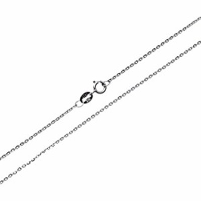 Wellme Sterling Silver 1mm/1.5mm/2mm Gliding Rolo Cable Chain Necklace 16''-40'' (16, 1mm)
