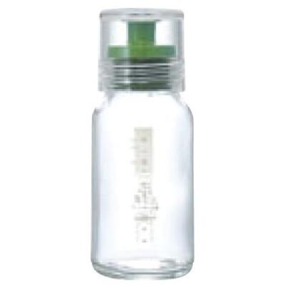 ハリオ ドレッシングボトルスリム 120 グリーン DBS-120G 高さ135(mm)/業務用/新品