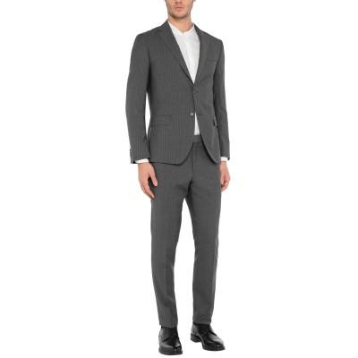 BRERAS Milano スーツ グレー 50 バージンウール 100% スーツ
