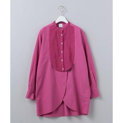 シャツ ブラウス <6(ROKU)>BOTANICAL DYE DRESS SHIRT/シャツ