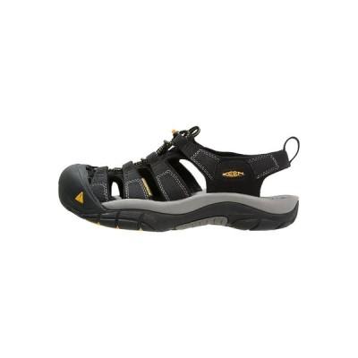 キーン サンダル メンズ シューズ NEWPORT H2 - Walking sandals - black