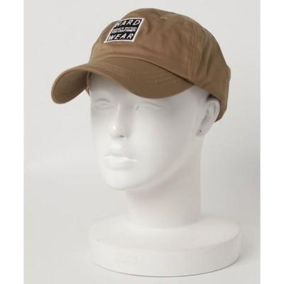 帽子 キャップ コットンツイルワッペン付きレトロベースボールキャップ