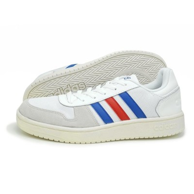 adidas(アディダス)ADIHOOPS 2.0 U(アディフープス 2.0 U)(FW8250/ホワイト)  スニーカー 運動靴 白 ローカット シューズ メンズ