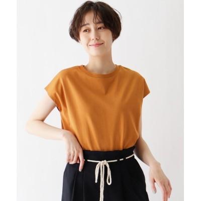 SHOO・LA・RUE/DRESKIP(シューラルー/ドレスキップ) ひんやり 配色ステッチTシャツ