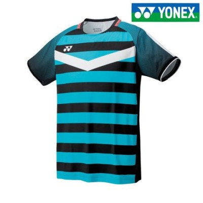 ヨネックス YONEX テニスウェア メンズ メンズゲームシャツ 10274-007 2018SS  ブラック(007) M