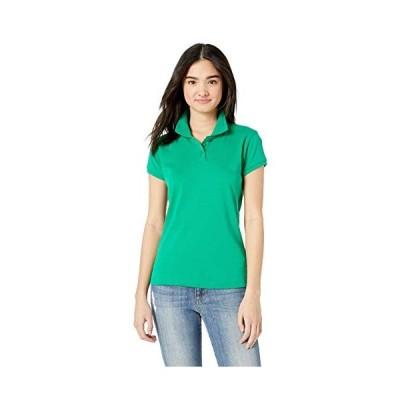 Classroom School Uniforms Junior's Short Sleeve Fitted Interlock Polo,