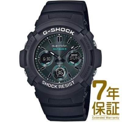 【国内正規品】CASIO カシオ 腕時計 AWG-M100SMG-1AJF メンズ G-SHOCK ジーショック ブラック&グリーン シリーズ タフソーラー 電波修正