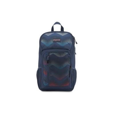 JanSport Impulse Laptop Backpack - Matrix Chevron Navy