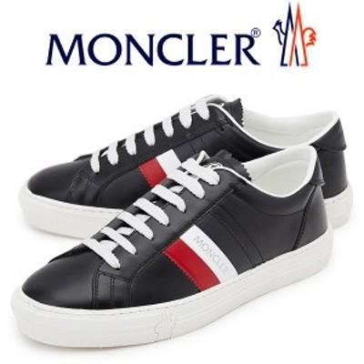 ☆送料無料☆36 MONCLER モンクレール NEW MONACO 1037600 01A9A ブラック スニーカー