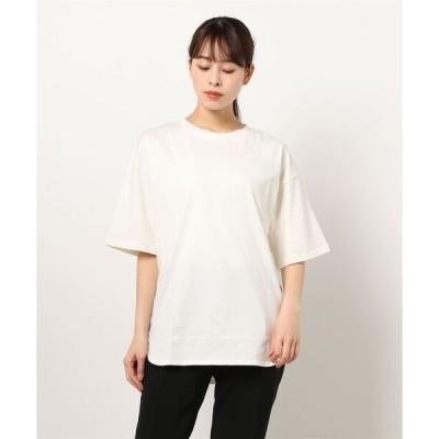 tシャツ Tシャツ 袖ラウンドシンプルTシャツ