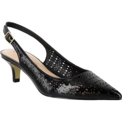 ベラヴィータ Bella Vita レディース パンプス シューズ・靴 Sybil Slingback Pump Black Patent