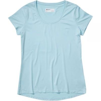 マーモット Marmot レディース Tシャツ トップス All Around T - Shirt Corydalis Blue