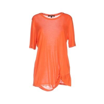 グッチ GUCCI T シャツ オレンジ M シルク 100% T シャツ