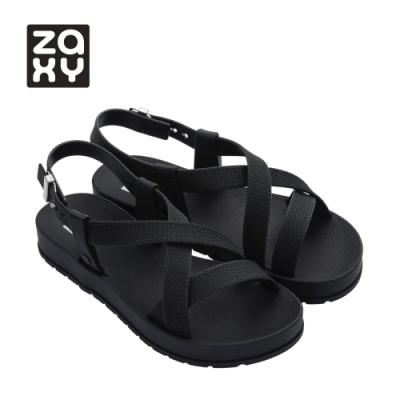 Zaxy MODERN系列交叉涼鞋-黑