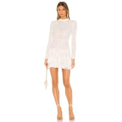 マイケル コステロ Michael Costello レディース ワンピース ミニ丈 ワンピース・ドレス x REVOLVE Onex Mini Dress White
