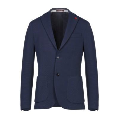 BRERAS Milano テーラードジャケット ダークブルー 50 ポリエステル 95% / ポリウレタン 5% テーラードジャケット