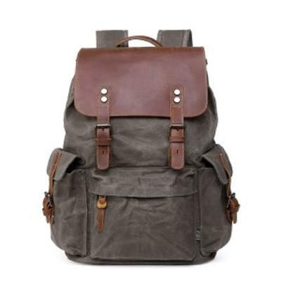 TSDブランド レディース バックパック・リュックサック バッグ Women's Stone Creek Waxed Canvas Backpack Olive