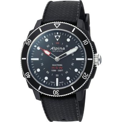 Alpina Men's AL-282LBB4V6 Horological Smart Watch Analog Display Quartz Black Watch 並行輸入品
