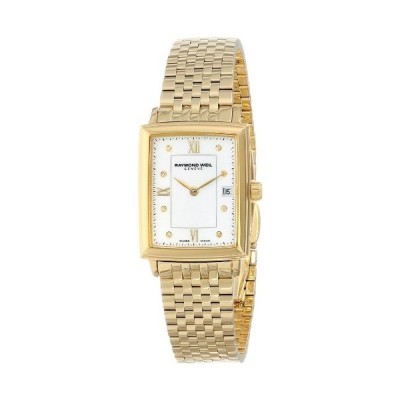 Raymond Weil Women's 5956-P-00995 Tradition Gold PVD-Coated Watch with Diamonds並行輸入品
