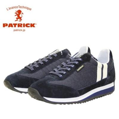パトリック PATRICK マラソン・ウールタッチ ネイビー 靴 レディース 502542