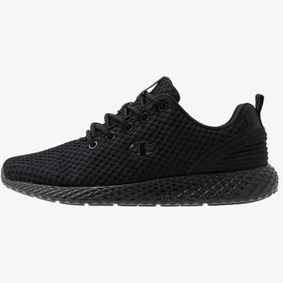 チャンピオン レディース スポーツ用品 LOW CUT SHOE SPRINT - Neutral running shoes - triple black