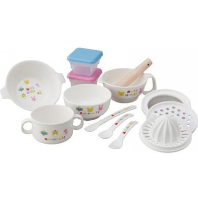 ミキハウス テーブルウェアセット 46-7092-848 || ベビー 赤ちゃん ベビー食器 ギフト 贈り物 プレゼント お祝い PT