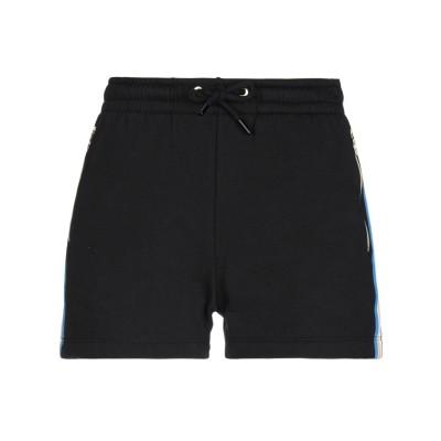 ビッケンバーグ BIKKEMBERGS ショートパンツ ブラック XS コットン 100% / ポリエステル ショートパンツ