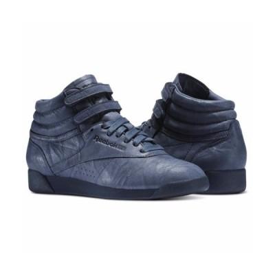 スニーカー リーボック [BS6281] Womens Reebok Freestyle HI FBT Classics Sneaker Smoky Indigo
