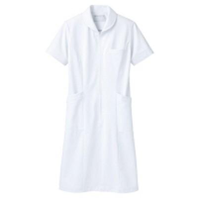 住商モンブラン住商モンブラン ナースワンピース(半袖) 医療白衣 白 3L 73-1512(直送品)