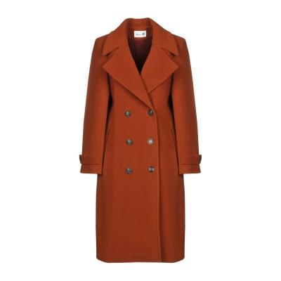 BONSAI コート 赤茶色 40 80% バージンウール 20% ナイロン コート