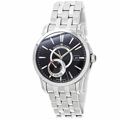 モーリス ラクロア MAURICE LACROIX ポントス リザーブ・ド・マルシェ PT6168-SS002 メンズ 腕時計 ブラック 文