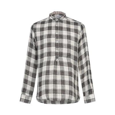 ハマキホ HAMAKI-HO シャツ ベージュ S コットン 70% / 麻 30% シャツ