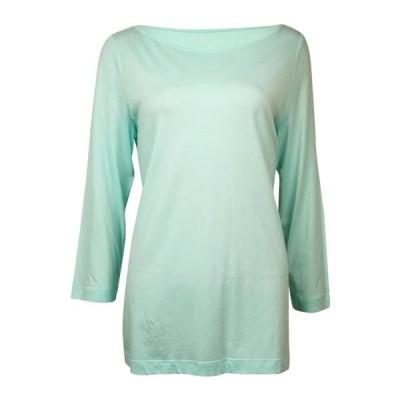 レディース 衣類 トップス Nautica Women's Ballet Solid Knit Pajama Top ブラウス&シャツ