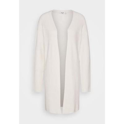 エヌエーケイディー レディース ファッション NA-KD X ZALANDO EXCLUSIVE - SOFT RIBBED CARDIGAN - Cardigan - off-white