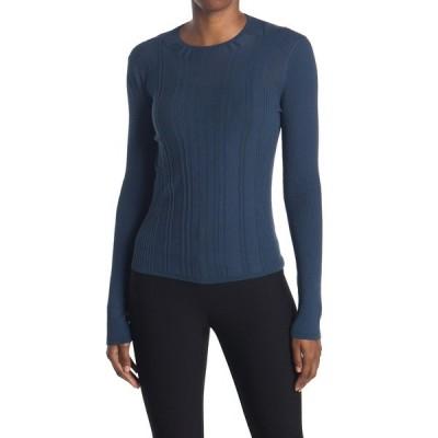 ヴィンス レディース ニット&セーター アウター Crew Neck Ribbed Cotton Sweater TERRACE
