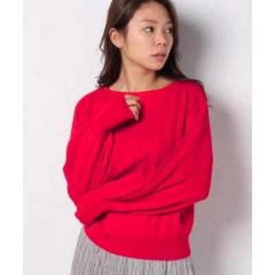 テチチ【Techichi】プリーツボリューム袖プルオーバー LS