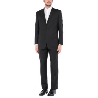BARBATO スーツ ブラック 48 バージンウール 100% スーツ