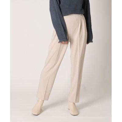 Bonjour Sagan / 美シルエットセンタープレスパンツ WOMEN パンツ > スラックス