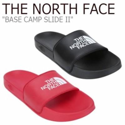 ノースフェイス サンダル THE NORTH FACE BASE CAMP SLIDE II ベース キャンプ スライド II BLACK RED NS98J83C/D シューズ