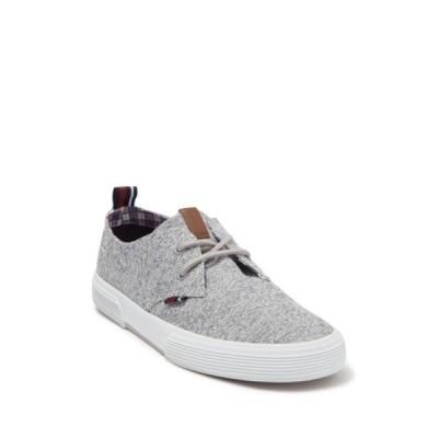 ベンシャーマン メンズ スニーカー シューズ Bristol Oxford Lace-Up Sneaker GREY TEXTILE