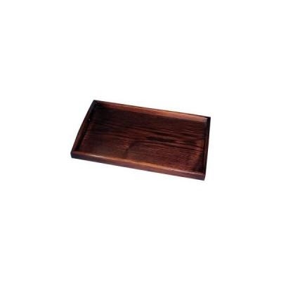 丸十 木製 14.0 長手盆 目摺り