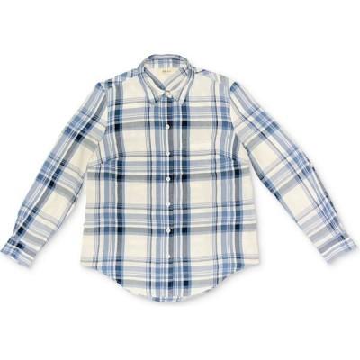 スタイル&コー Style & Co レディース ブラウス・シャツ トップス Petite Plaid Utility Shirt Fresh Cream Combo