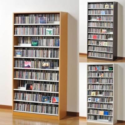 CDラック CD 収納 DVDラック 大容量 タンデムCDストッカー TCS890