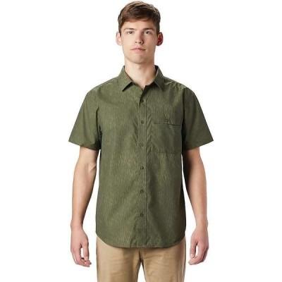 マウンテンハードウェア メンズ シャツ トップス Mountain Hardwear Men's Greenstone SS Shirt