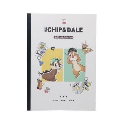 チップ&デール キャラクター B5ノート 横罫 学習帳 小学生 入学準備 ディズニー グッズ